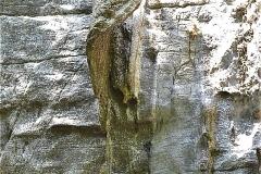 チャンアン 上陸した神社 鍾乳石