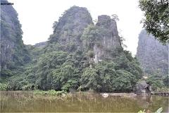 Thai Vi Templeへの途中の風景