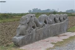 胡朝の城塞 十字路