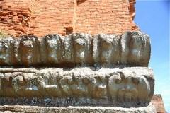 象牙塔 Duong Long Cham Temple の彫刻