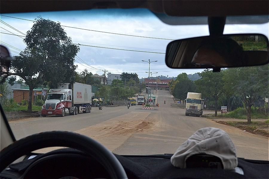ラオスとの国境(Cột mốc 790 Việt Nam - Lào)まで