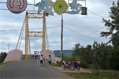 コンクロー吊り橋 (Cầu treo Kon Klor)