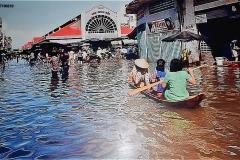チャウドック市場:2000年の洪水