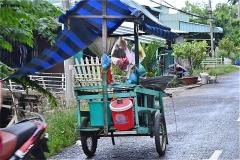 チャウドック市郊外 Suburb of tp.Chau Doc(nui Samの西側)