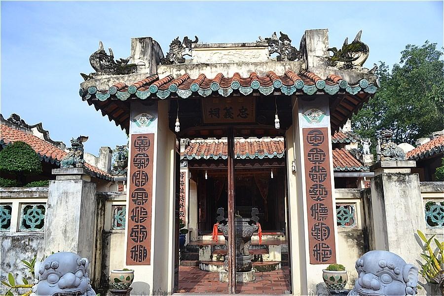 Mac Cuu 一族の寺 Mac family temple (Đền thờ họ Mạc)