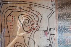 Binh San山=Mac Cuu 一族の墓所の案内図