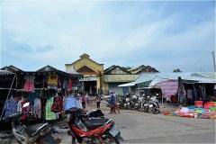 カンボジア国境近くの市場