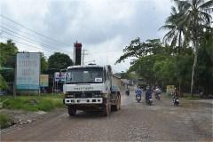 ハティエンからBa Hon長距離バスステーションへ向かう(QL80)