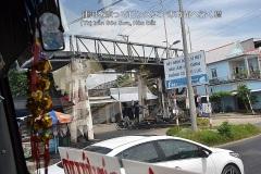 運河を渡ってロンスエン市方面へ行く橋 (Thị trấn Sóc Sơn, Hòn Đất)
