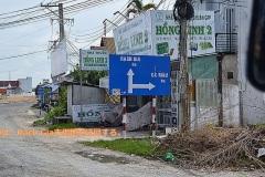 カマウ方面は、ラチジャー市街地をバイパスする