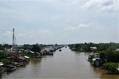 タイランド湾とロンスエン市近くのメコン川を一直線でつなぐ運河。