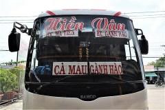 バスの終点は、バクリュウ省のGanh Hao Coach Stationだった。