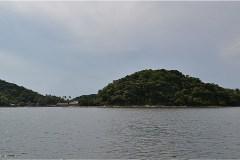 Hòn Đầm Giếng 島到着