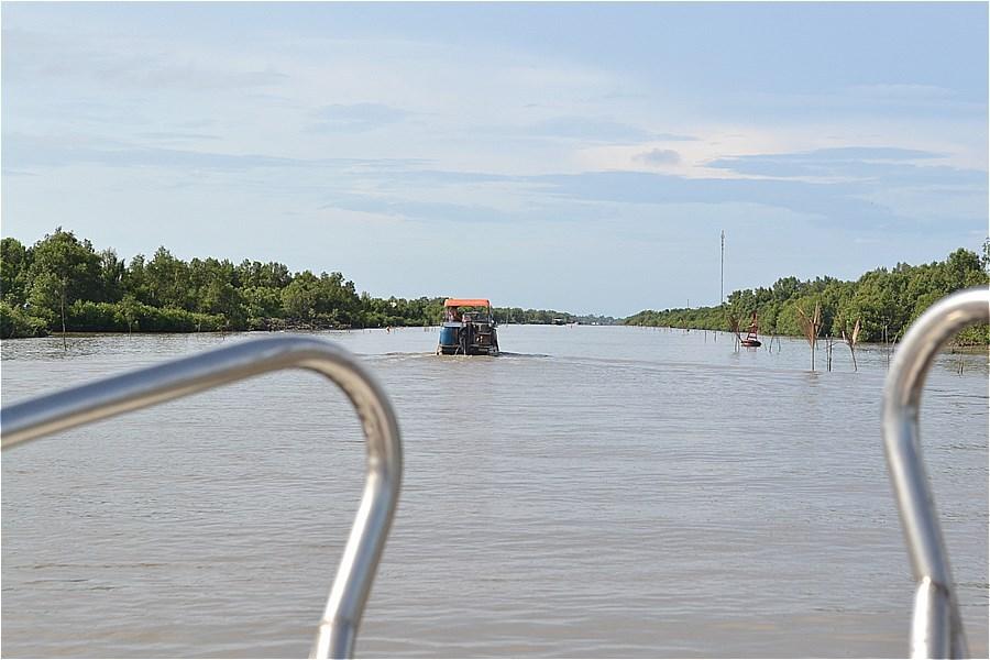 Sông Gành Hào(ガンハオ川)を下る