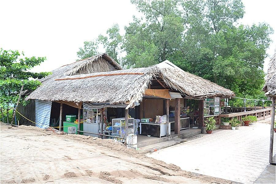 カマウ岬のレストラン